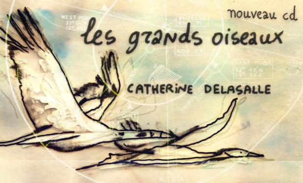 """Visuel du projet Nouvel album """"Les grands oiseaux"""""""