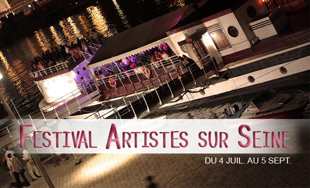 Visuel du projet Festival Artistes sur Seine