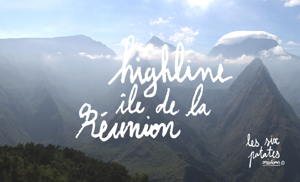 Visueel van project Highline à l'île de la Réunion