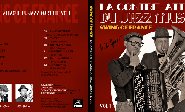Visuel du projet Swing Of France The Album!