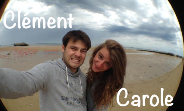 Visuel du projet 4L Trophy 2016 - Carole et Clément - Association Des'R4 -