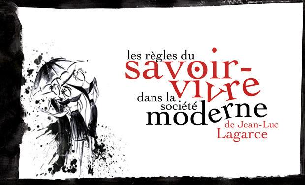 Visuel du projet Les Règles du savoir-vivre dans la société moderne - Collectif Lophophore