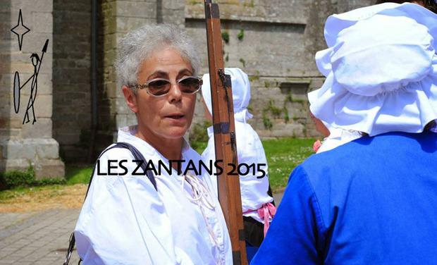 Visueel van project les Zantans 2015