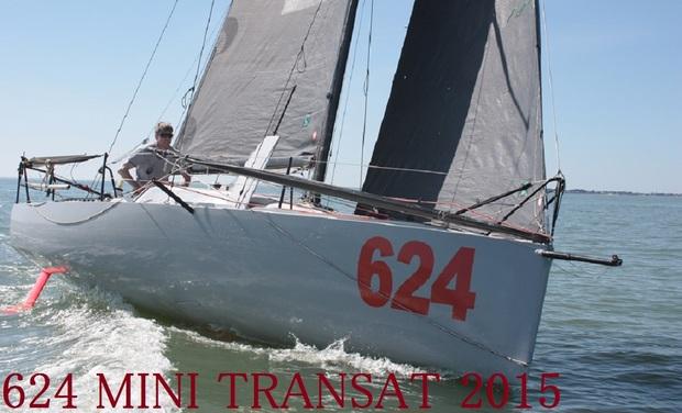 Visueel van project 624 , Mini Transat 2015