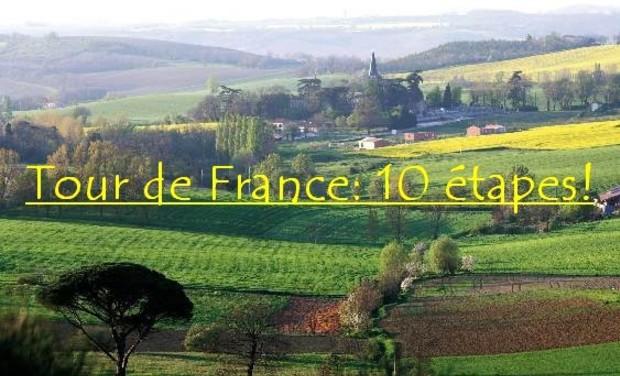 Visuel du projet Vivez le Tour de France d'une étudiante!
