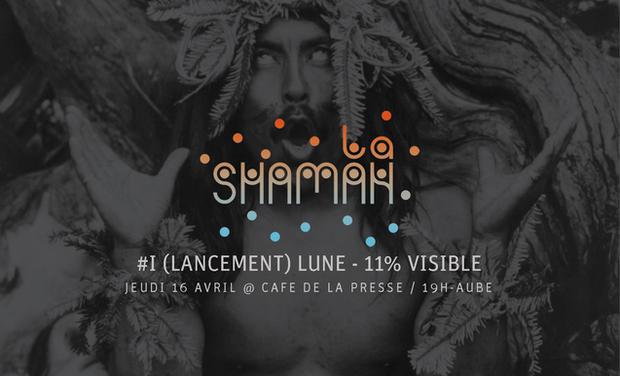 """Visuel du projet Grâce à vous : """"LA SHAMAN #I (LANCEMENT) LUNE - 11% VISIBLE"""" pourra exister !"""