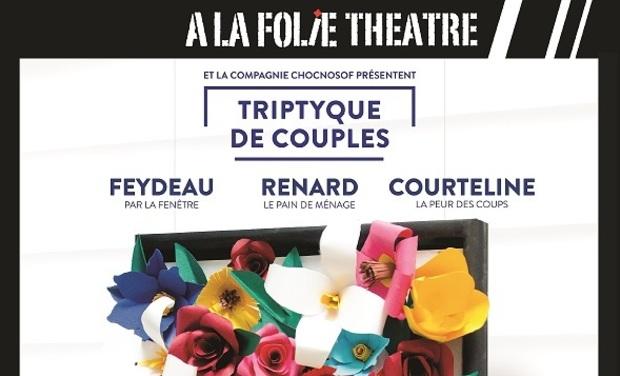 Visuel du projet Triptyque de couples : Feydeau-Renard-Courteline