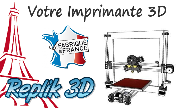 Visueel van project Fabrication et vente d'imprimante 3D en France