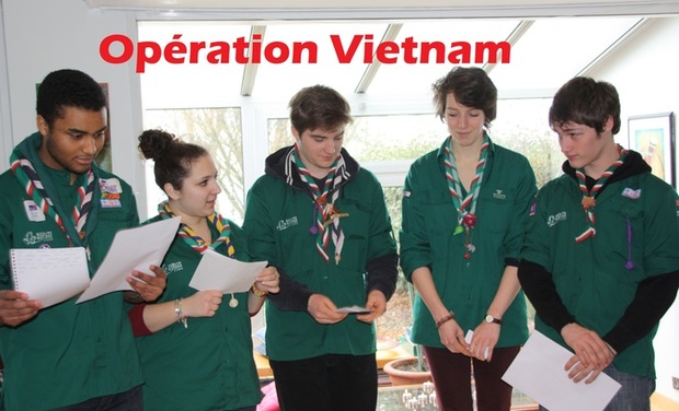 Visueel van project Opération Vietnam : Projet de solidarité International