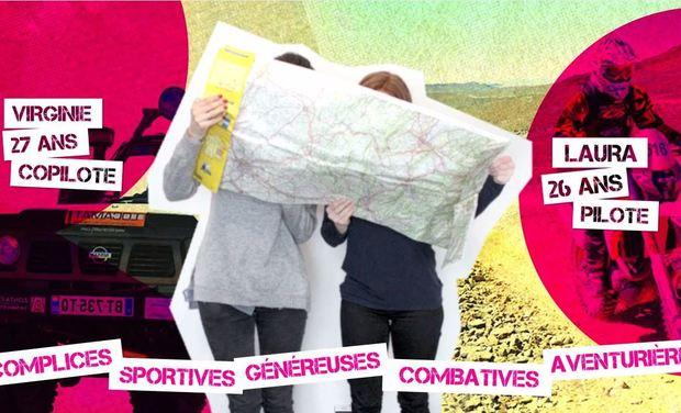 Visuel du projet Embarquez avec les Raid'Dingues au Trophée Roses des Sables 2015 !