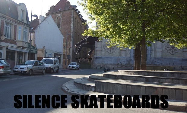 Visueel van project Silence Skateboard