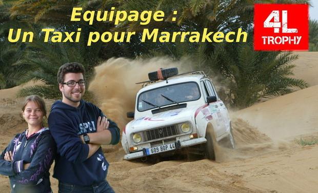 Visuel du projet 4L Trophy - Un taxi pour Marrakech