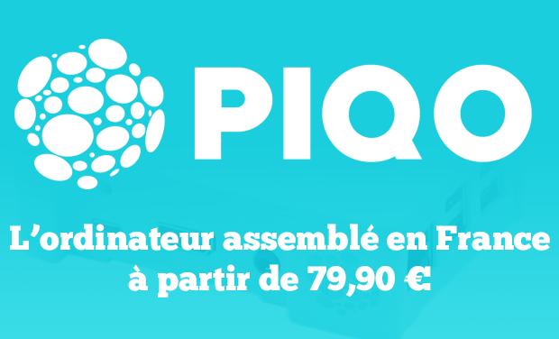 Visuel du projet Piqo, l'ordinateur de bureau à 79,90€