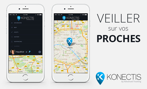 Visuel du projet Konectis : Veiller sur vos proches | Have always a look over your family