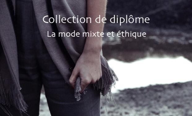 Visuel du projet Collection de mode mixte et éthique
