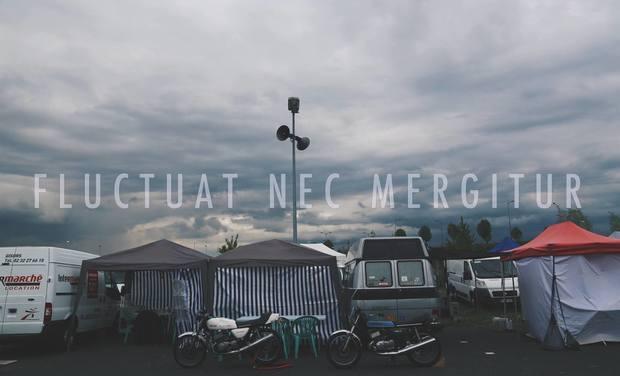 Project visual FLUCTUAT NEC MERGITUR