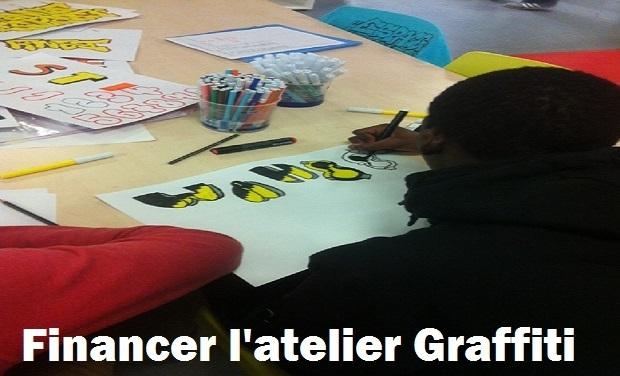 Project visual Financer les Ateliers Graffiti pour les 10-25ans