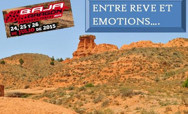 Visueel van project BAJA ARAGON 2015 ... ... ENTRE REVE ET EMOTIONS