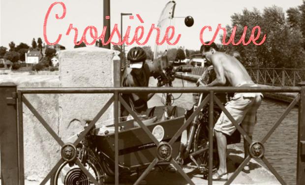 Project visual La Croisière crue, c'est 600 Kilomètres à vélo, en trois jours, pour livrer...un pot de miel !