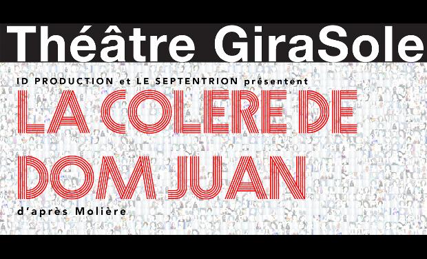 Project visual La colère de Dom Juan / Avignon 2015