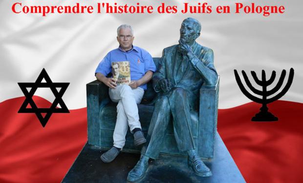 Visueel van project Comprendre l'histoire des Juifs en Pologne