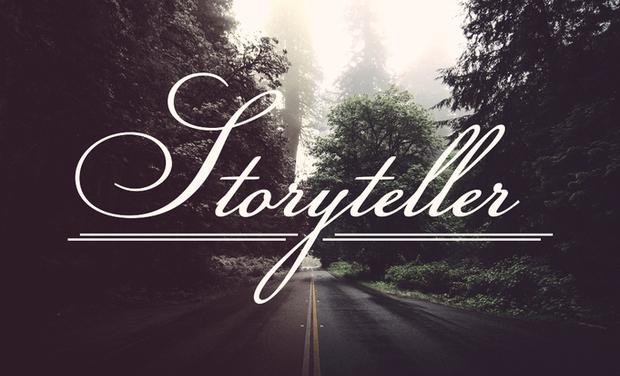 Project visual My First EP : Storyteller / Mon Premier EP : Storyteller