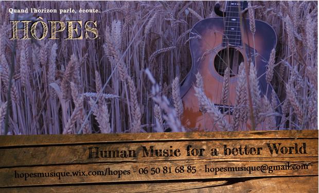 Visuel du projet Hôpes musique premier album