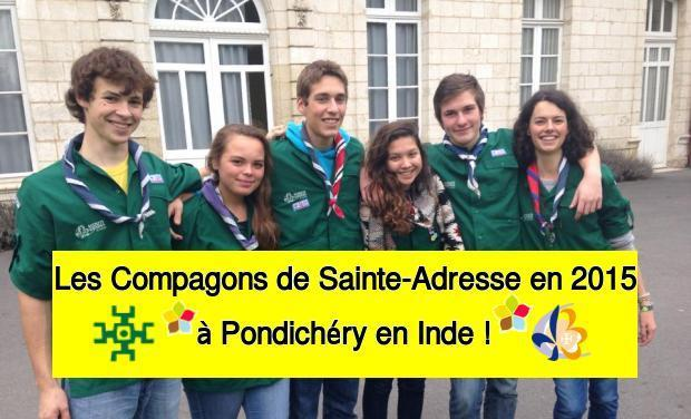 Project visual Compagnons Sainte-Adresse Inde