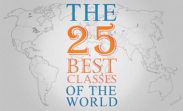 Visuel du projet Open the 25 best classes of the world