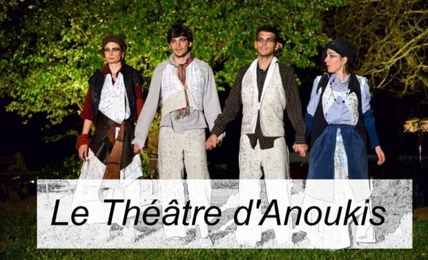 Project visual Le théâtre d'Anoukis, coopérative artistique et culturelle