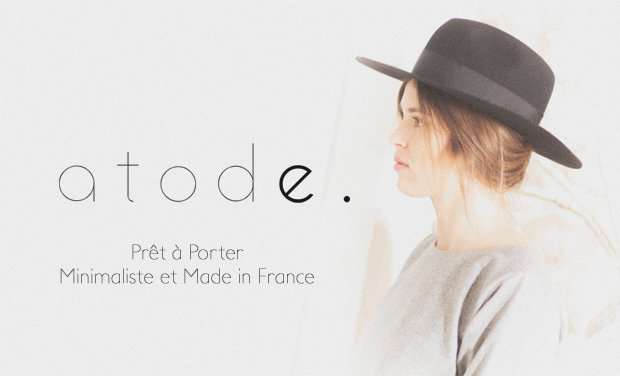 Project visual Atode - Prêt à porter Minimaliste et Made in France