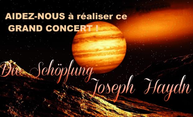 Visueel van project Aidez-nous à réaliser ce grand concert!