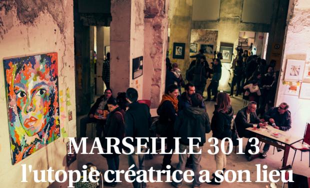 Visuel du projet Marseille 3013, l'utopie créative a son lieu
