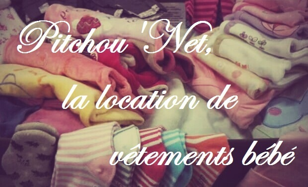 Project visual Pitchou'Net, la location de linge bébé
