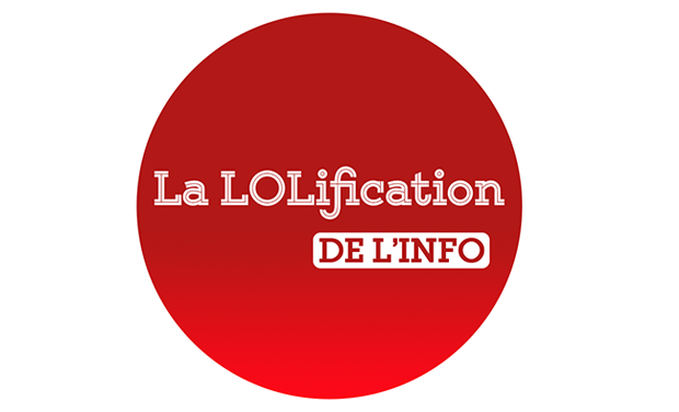 Project visual La LOLification de l'info