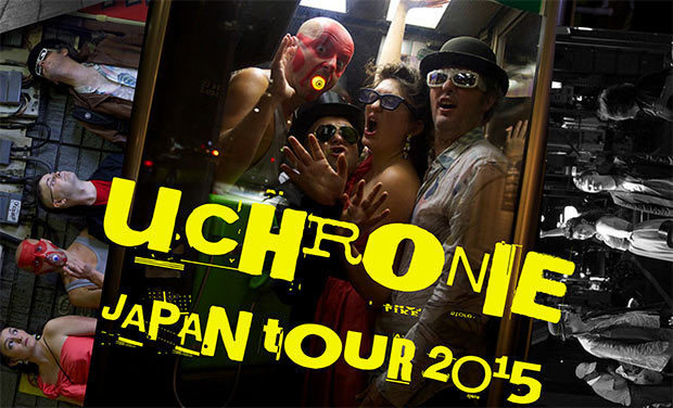 Project visual UCHRONIE JAPAN TOUR 3 - été 2015 -