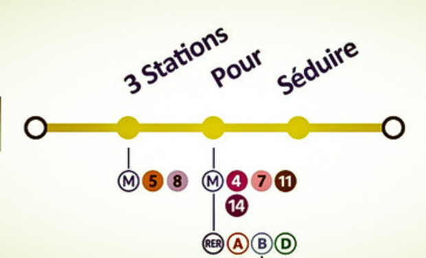 Project visual 3 Stations Pour Séduire