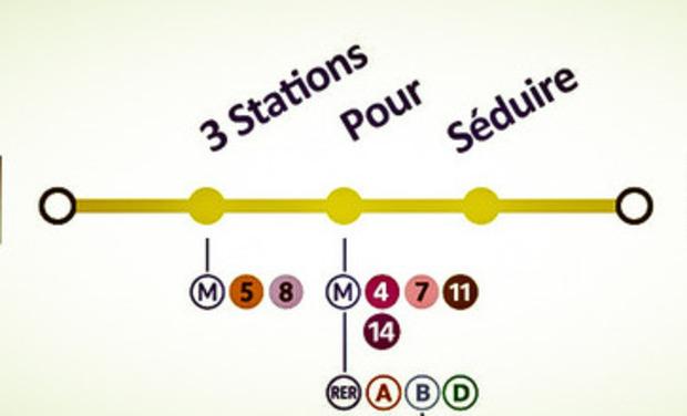 Visuel du projet 3 Stations Pour Séduire