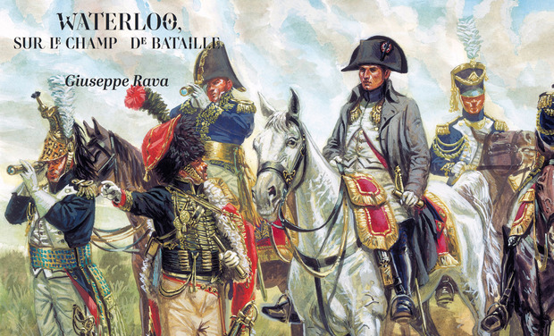 Visueel van project Waterloo, sur le champ de bataille un portfolio de Giuseppe Rava