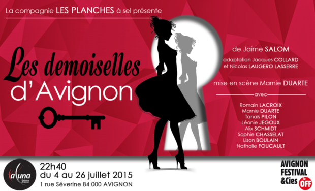 Project visual LES DEMOISELLES D'AVIGNON en AVIGNON !