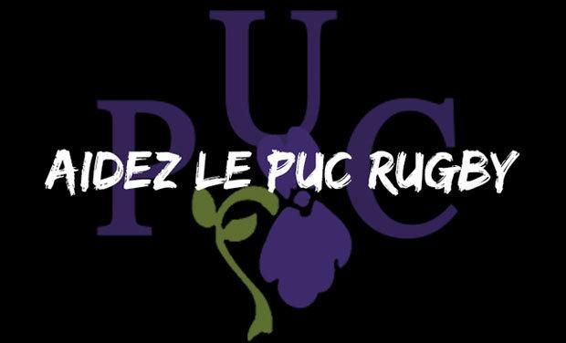Visuel du projet Aidons le PUC Rugby