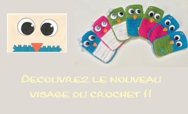 Visueel van project Accessoires au crochet. Hibousseland !
