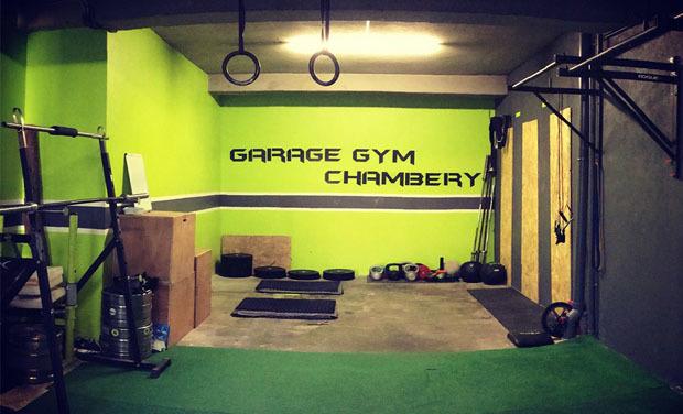 Visueel van project La petite cagnotte Garage Gym Chambéry