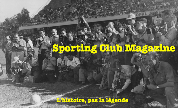 Project visual Sporting Club Magazine