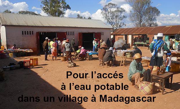 Visuel du projet Création d'une fontaine dans un village malgache