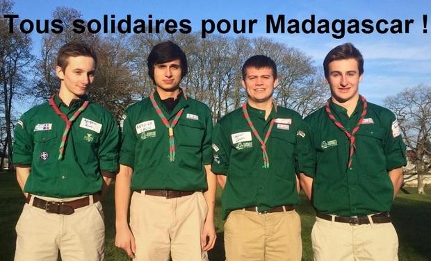 Visueel van project Tous solidaires pour Madagascar !