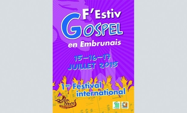 Visueel van project F'Estiv Gospel en Embrunais