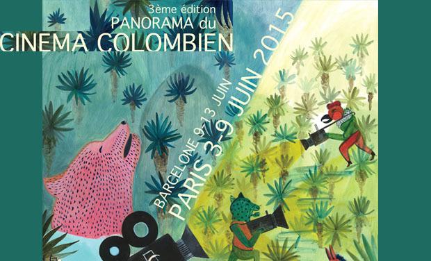Visuel du projet Panorama du cinéma colombien Paris