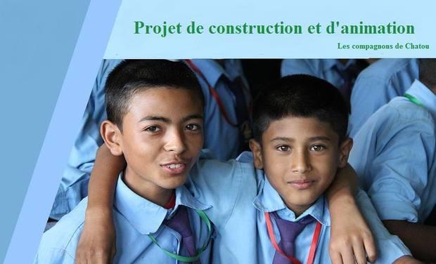 Visueel van project Projet de solidarité au Népal