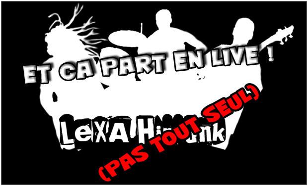 Visueel van project Lexa et ses potes partent en live !